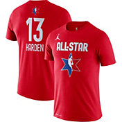 Jordan Youth 2020 NBA All-Star Game James Harden Dri-FIT Red T-Shirt