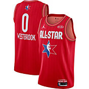 Jordan Youth 2020 NBA All-Star Game Russell Westbrook Red Dri-FIT Swingman Jersey