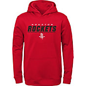 Gen2 Youth Houston Rockets Red Static Pullover Hoodie