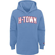 Nike Youth 2020-21 City Edition Houston Rockets Logo Pullover Hoodie