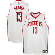 Nike Youth Houston Rockets James Harden #13 Dri-FIT Statement Swingman Jersey