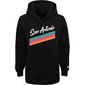 Nike Youth 2020-21 City Edition San Antonio Spurs Logo Pullover Hoodie