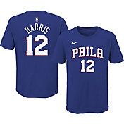 Nike Youth Philadelphia 76ers Tobias Harris #12 Blue Cotton T-Shirt