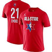Jordan Youth 2020 NBA All-Star Game Joel Embiid Dri-FIT Red T-Shirt