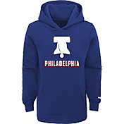 Nike Youth 2020-21 City Edition Philadelphia 76ers Logo Pullover Hoodie