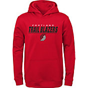 Gen2 Youth Portland Trail Blazers Red Static Pullover Hoodie