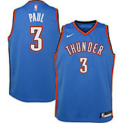 Nike Youth Oklahoma City Thunder Chris Paul #3 Blue Dri-FIT Swingman Jersey