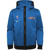 Nike Youth Oklahoma City Thunder Blue Spotlight Full-Zip Hoodie