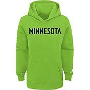 Jordan Youth Minnesota Timberwolves Green Statement Pullover Hoodie