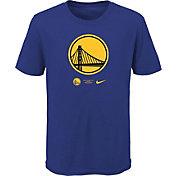 Nike Youth Golden State Warriors Blue Logo T-Shirt