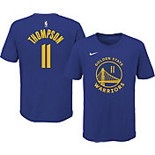 Nike Youth Golden State Warriors Klay Thompson #11 Blue Cotton T-Shirt