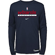 Nike Youth Cleveland Cavaliers Red Practice Performance Long Sleeve T-Shirt