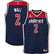 Jordan Youth Washington Wizards John Wall #2 Navy 2020-21 Dri-FIT Statement Swingman Jersey