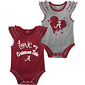 Gen2 Infant Alabama Crimson Tide Crimson 2-Piece Onesie Set