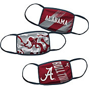 Outerstuff Boys' Alabama Crimson Tide 3-Pack Face Coverings