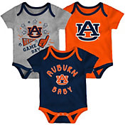Gen2 Infant Auburn Tigers Blue Champ 3-Piece Onesie Set