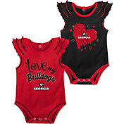 Gen2 Infant Georgia Bulldogs Red 2-Piece Onesie Set