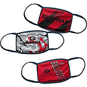 Outerstuff Boys' Georgia Bulldogs 3-Pack Face Coverings