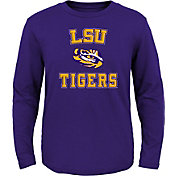 Gen2 Youth LSU Tigers Purple Bevel Long Sleeve T-Shirt