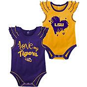 Gen2 Infant LSU Tigers Purple 2-Piece Onesie Set