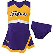 Gen2 Youth Girls' LSU Tigers Purple Cheer Captain 2-Piece Jumper Dress