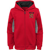 Outerstuff Youth Maryland Terrapins Performance Long Sleeve Red Full-Zip Jacket