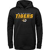 Gen2 Boys' Missouri Tigers Pullover Black Hoodie