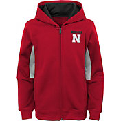 Outerstuff Youth Nebraska Cornhuskers Performance Long Sleeve Red Full-Zip Jacket