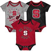 Gen2 Infant NC State Wolfpack Red Champ 3-Piece Onesie Set