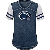 Gen2 Youth Girls' Penn State Nittany Lions Blue Football School Spirit T-Shirt