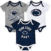 Gen2 Infant Penn State Nittany Lions Blue Champ 3-Piece Onesie Set