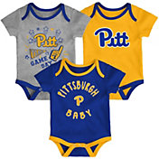 Gen2 Infant Pitt Panthers Blue Champ 3-Piece Onesie Set