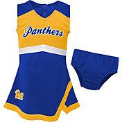 Gen2 Youth Girls' Pitt Panthers Blue Cheer Captain 2-Piece Jumper Dress