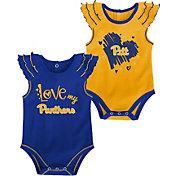 Gen2 Infant Pitt Panthers Blue 2-Piece Onesie Set