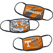 Outerstuff Boys' Tennessee Volunteers 3-Pack Face Coverings