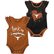 Gen2 Infant Texas Longhorns Burnt Orange 2-Piece Onesie Set