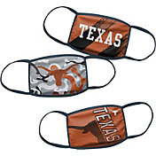 Outerstuff Boys' Texas Longhorns 3-Pack Face Coverings