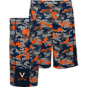 Gen2 Youth Virginia Cavaliers Blue Camo Ex Yard Shorts