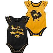 Gen2 Infant Iowa Hawkeyes 2-Piece Onesie Black Set