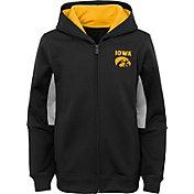 Outerstuff Youth Iowa Hawkeyes Performance Long Sleeve Black Full-Zip Jacket