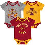 Gen2 Infant Iowa State Cyclones Cardinal Champ 3-Piece Onesie Set