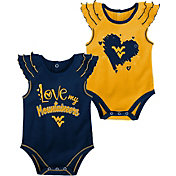 Gen2 Infant West Virginia Mountaineers Blue 2-Piece Onesie Set