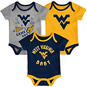 Gen2 Infant West Virginia Mountaineers Blue Champ 3-Piece Onesie Set
