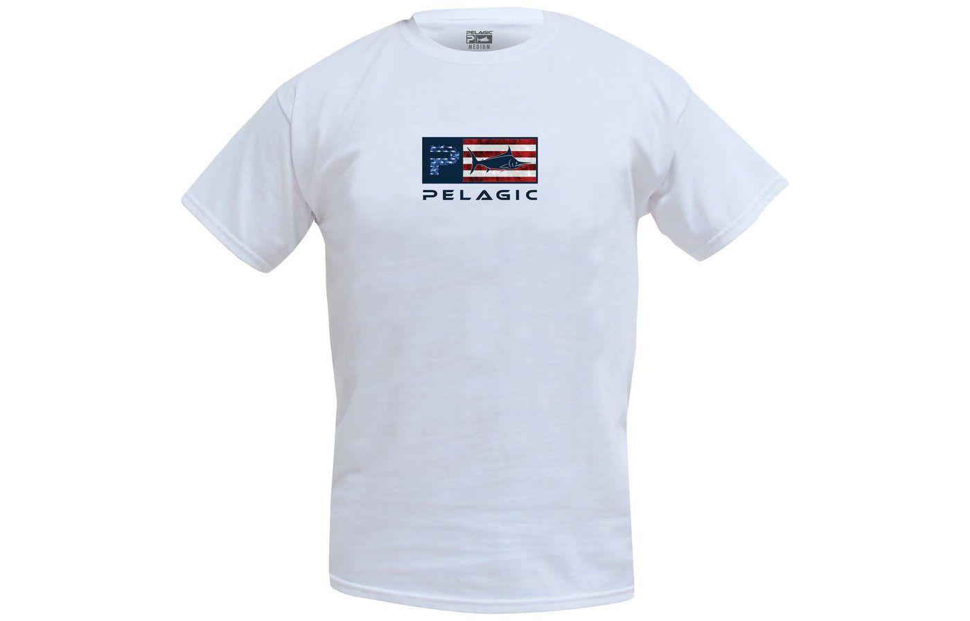 Pelagic Men's Deluxe Americamo Short Sleeve T-Shirt
