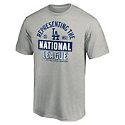 MLB Men's 2020 National League Champions Locker Room Los Angeles Dodgers T-Shirt