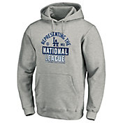 MLB Men's 2020 National League Champions Locker Room Los Angeles Dodgers Pullover Hoodie