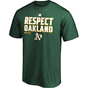 MLB Men's 2020 Division Champions Locker Room Oakland Athletics T-Shirt