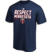 MLB Men's 2020 Division Champions Locker Room Minnesota Twins T-Shirt