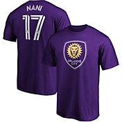 MLS Men's Orlando City Nani #17 Purple Player T-Shirt