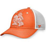 NCAA Men's Miami Hurricanes Orange Trucker Hat